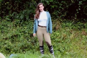 Pantalon - Balance Riding Tight in Elmwood