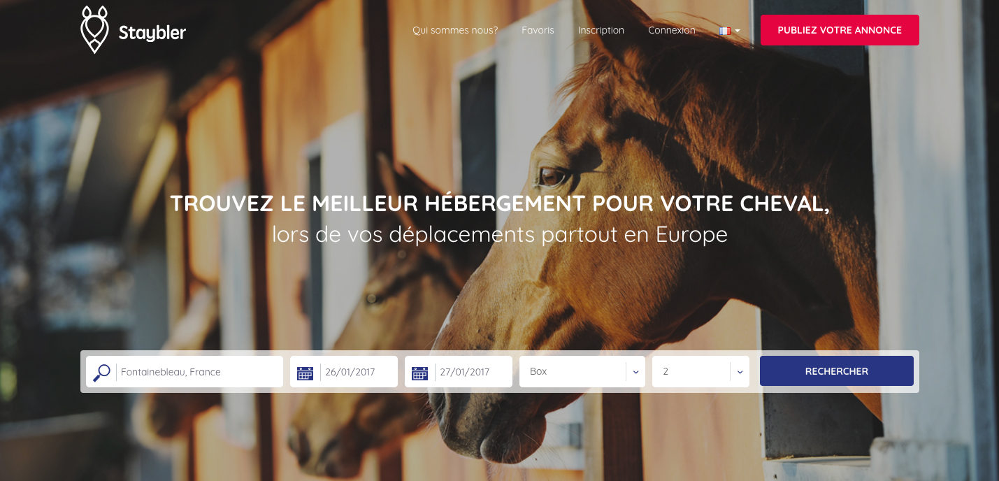 Staybler blog sur The Horse Riders