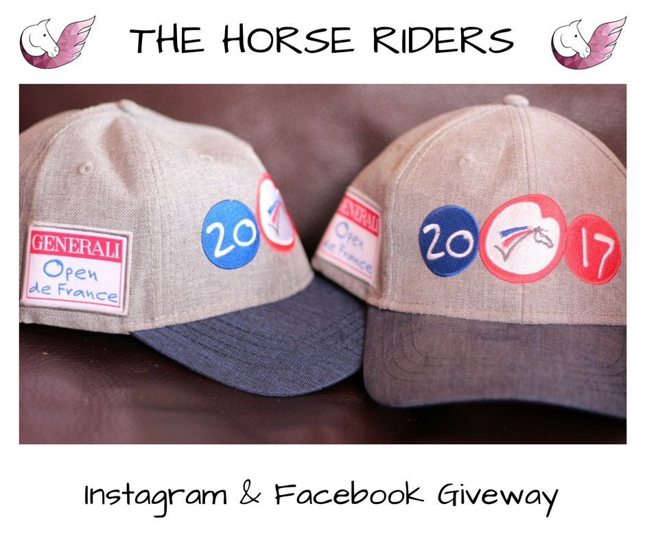 Giveway THE HORSE RIDERS & Generali Open de France