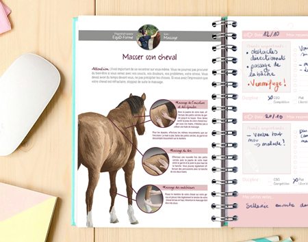 Planner équestre THE HORSE RIDERS