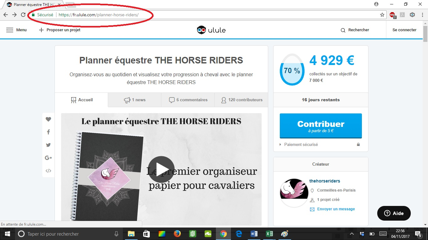 Le planner équestre THE HORSE RIDERS