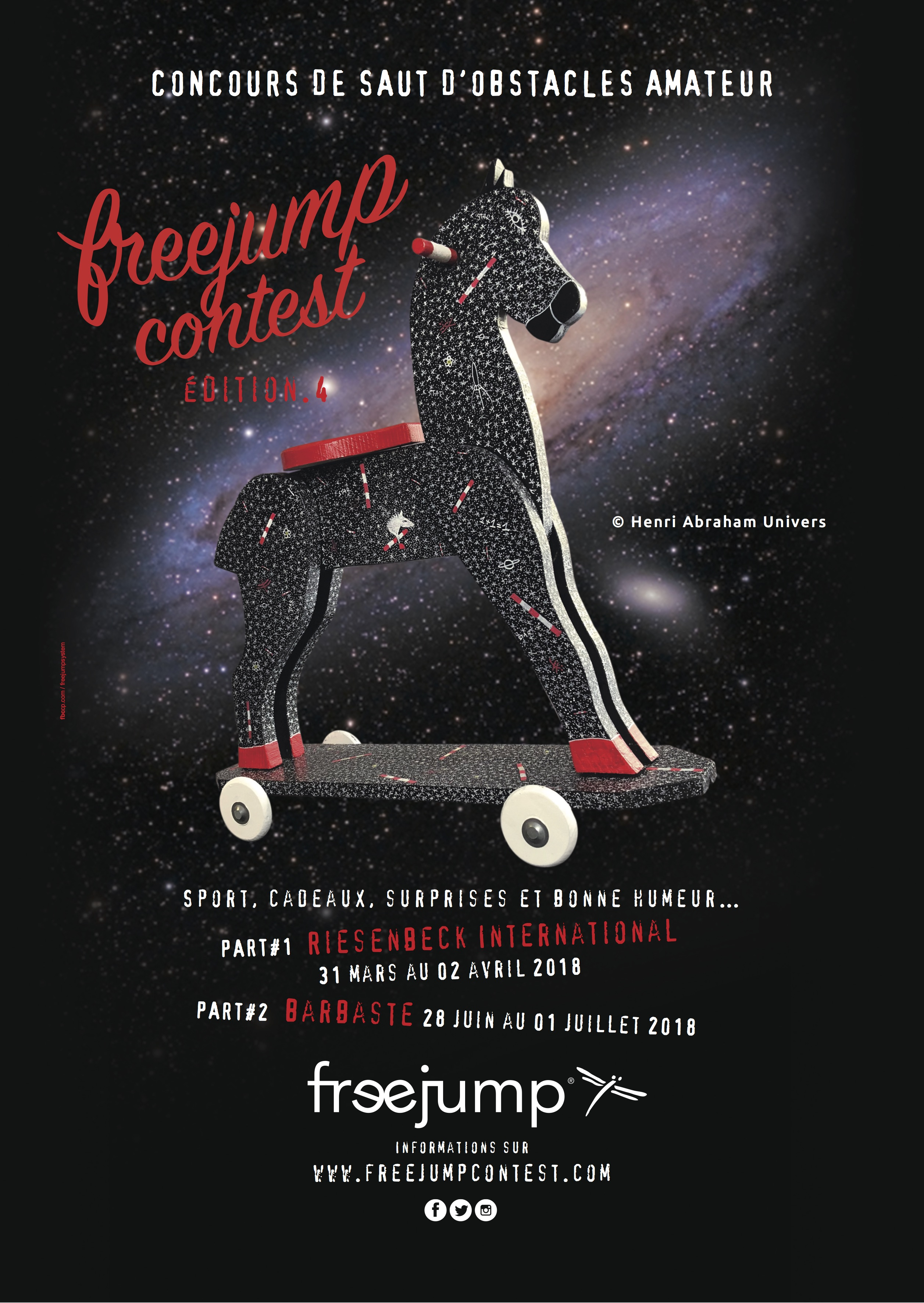 Freejump contest by THE HORSE RIDERS